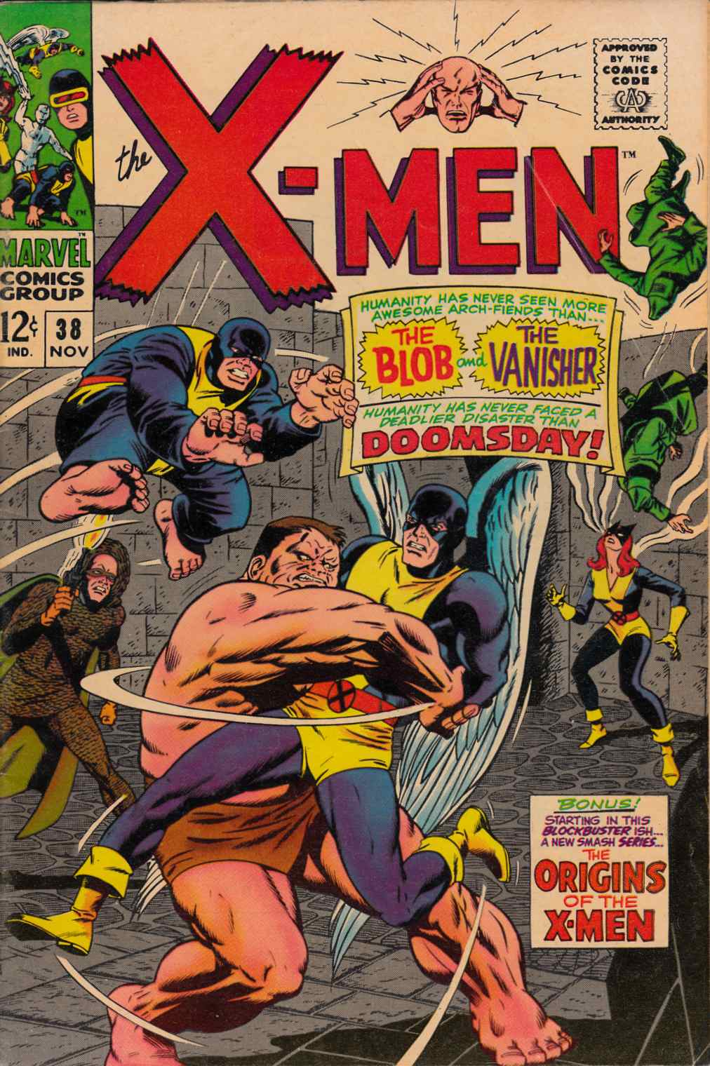 Uncanny X-Men #38 Very Good Plus (4.5) [Marvel Comic] THUMBNAIL