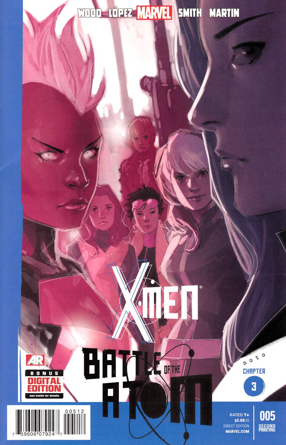 X-Men #5 Second Printing [Comic] THUMBNAIL