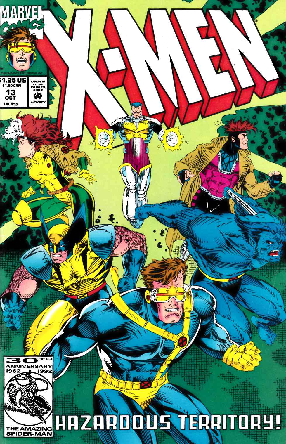 X-Men #13 Fine (6.0) [Marvel Comic] THUMBNAIL