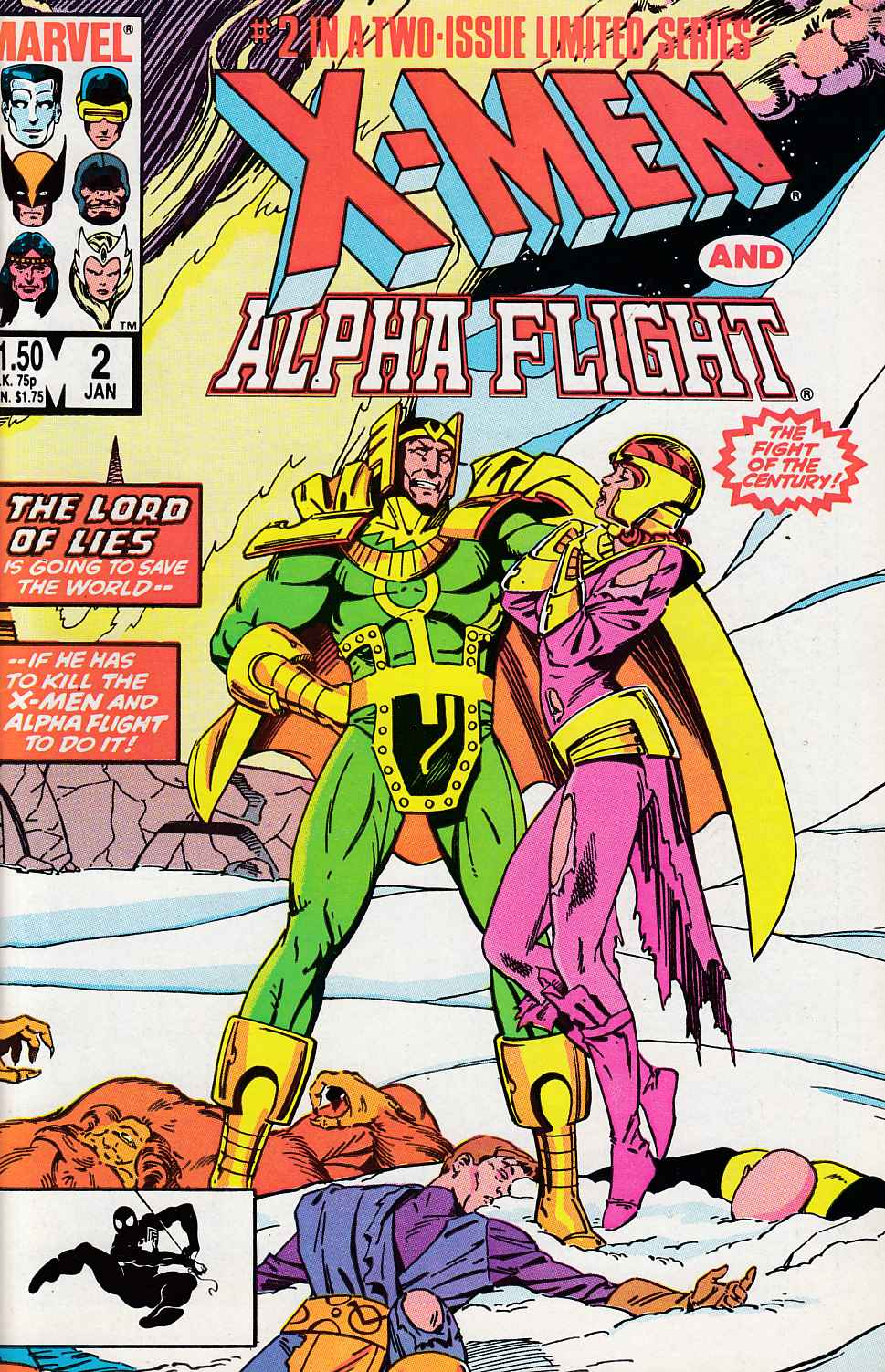X-Men Alpha Flight #2 Near Mint (9.4) [Marvel Comic] THUMBNAIL