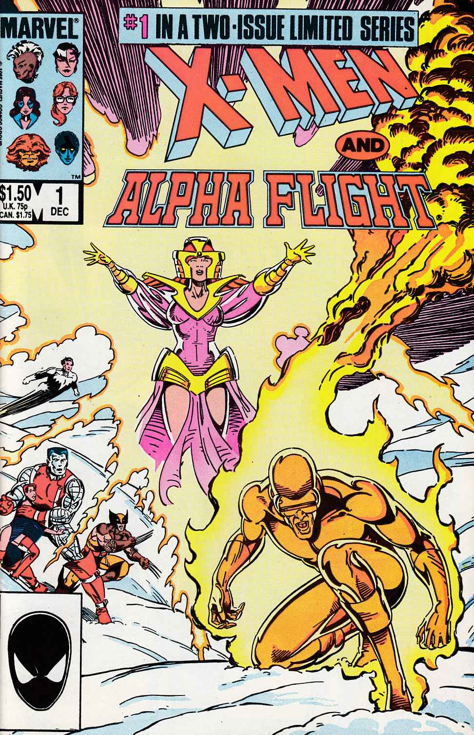X-Men Alpha Flight #1 Near Mint (9.4) [Marvel Comic] THUMBNAIL