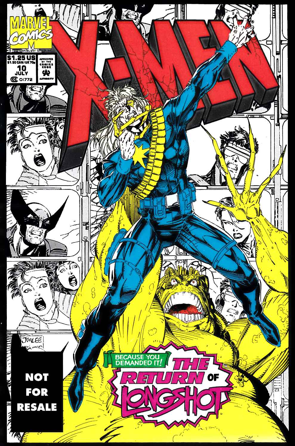 X-Men #10 Legends Reprint Edition Very Fine (8.0) [Marvel Comic] THUMBNAIL
