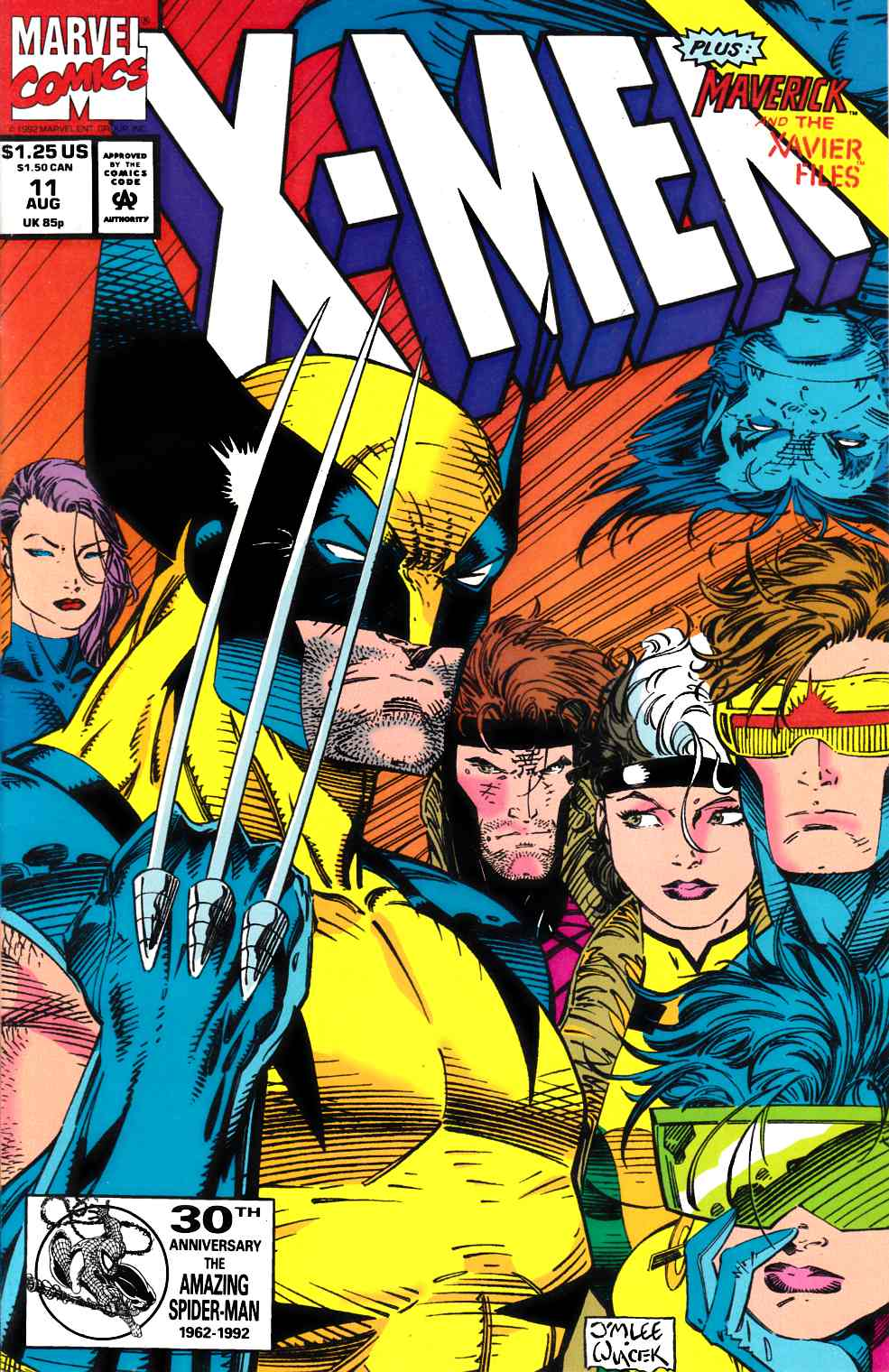 X-Men #11 Very Fine (8.0) [Marvel Comic] THUMBNAIL