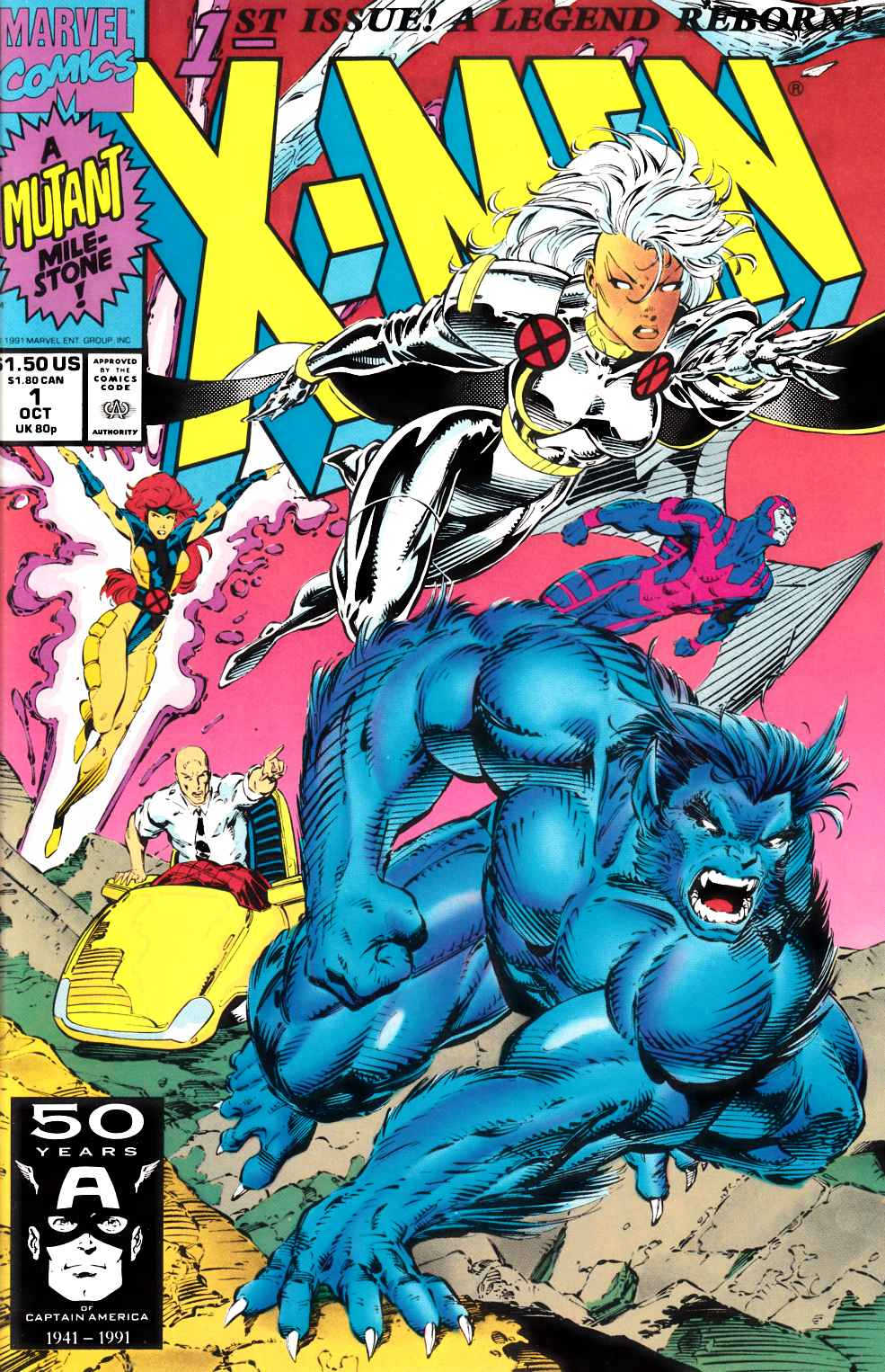 X-Men #1 Cover A Near Mint (9.4) [Marvel Comic] THUMBNAIL