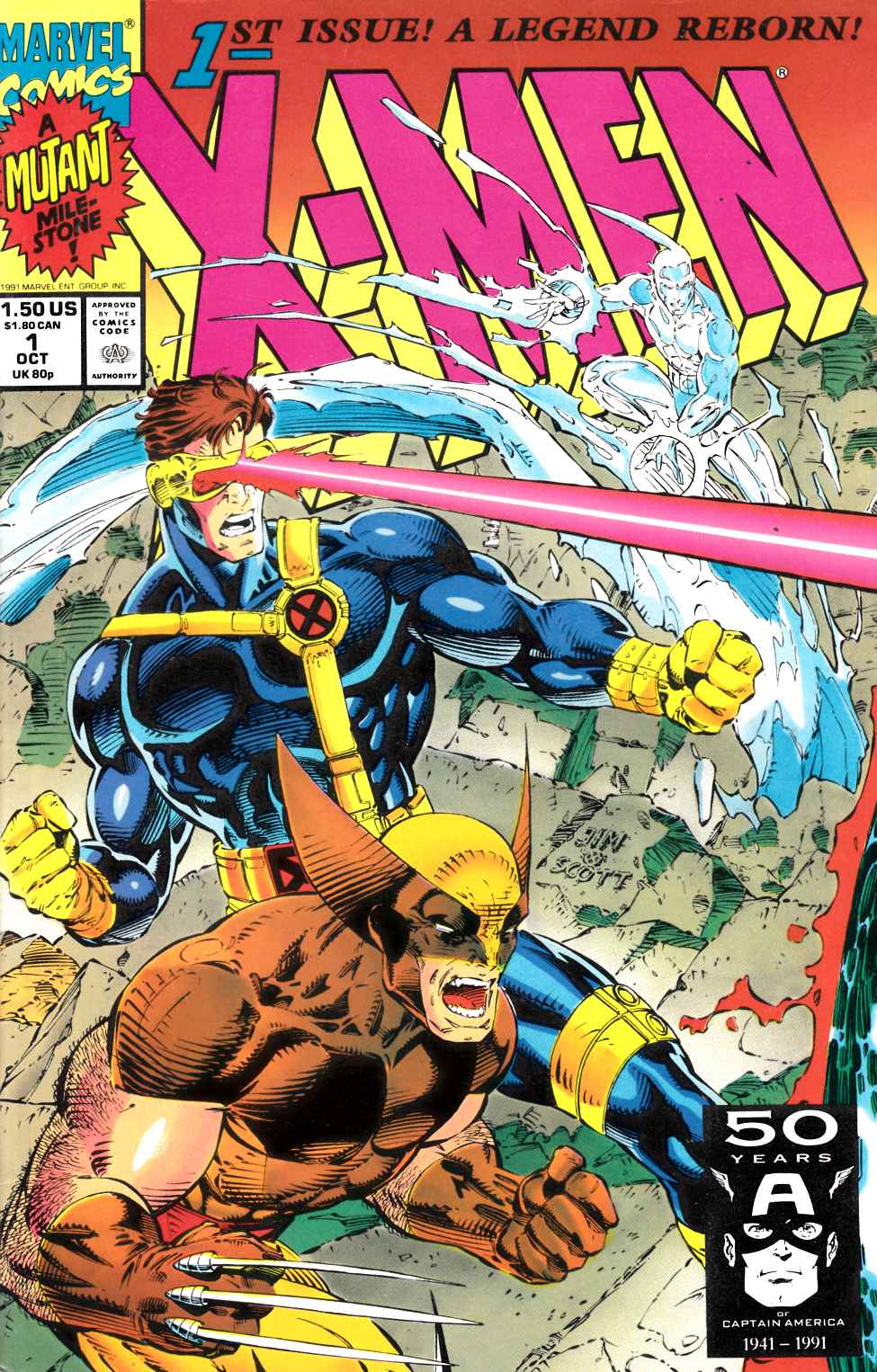 X-Men #1 Cover C Very Fine (8.0) [Marvel Comic] THUMBNAIL