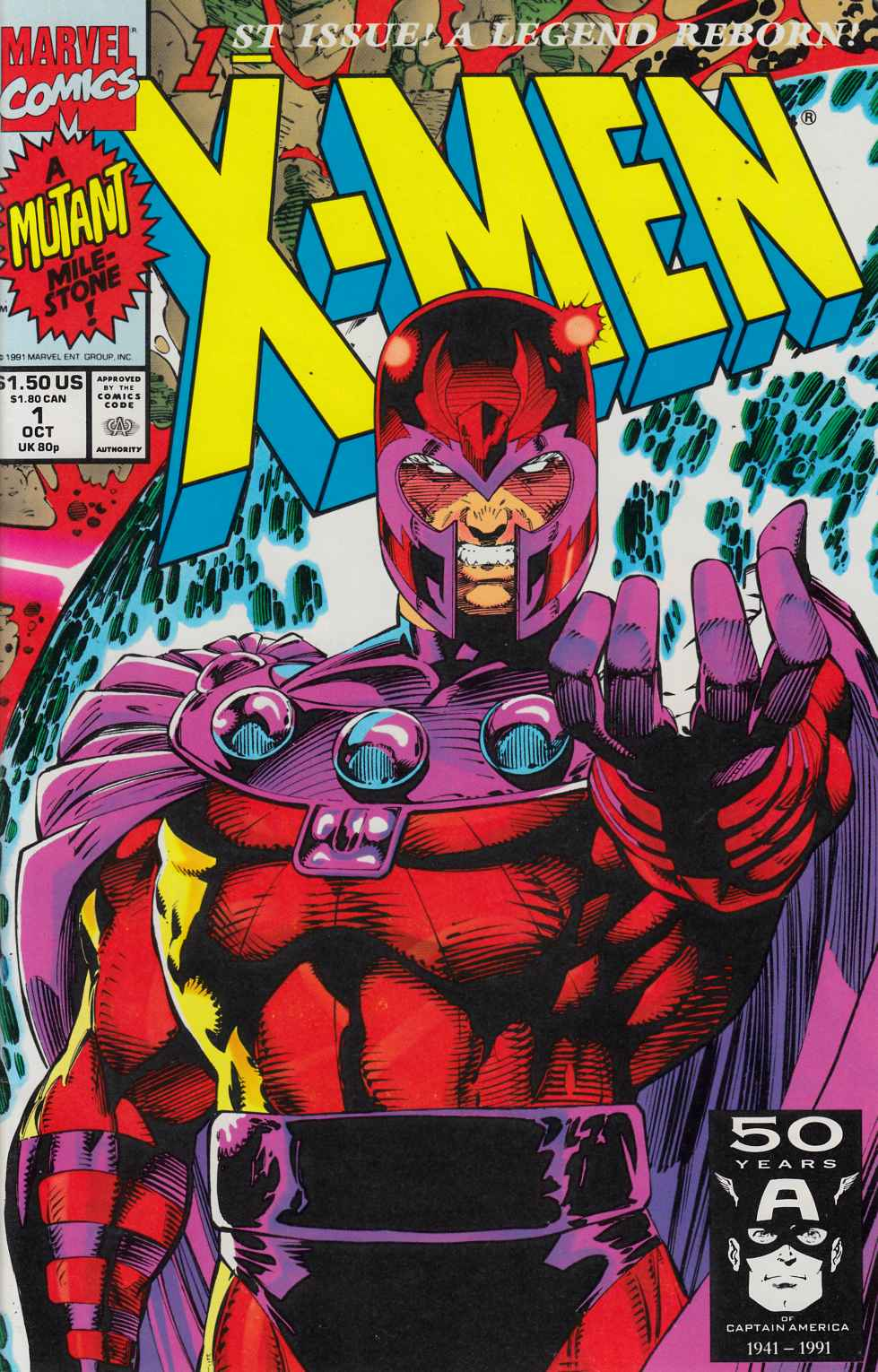 X-Men #1 Cover D Near Mint Minus (9.2) [Marvel Comic] THUMBNAIL