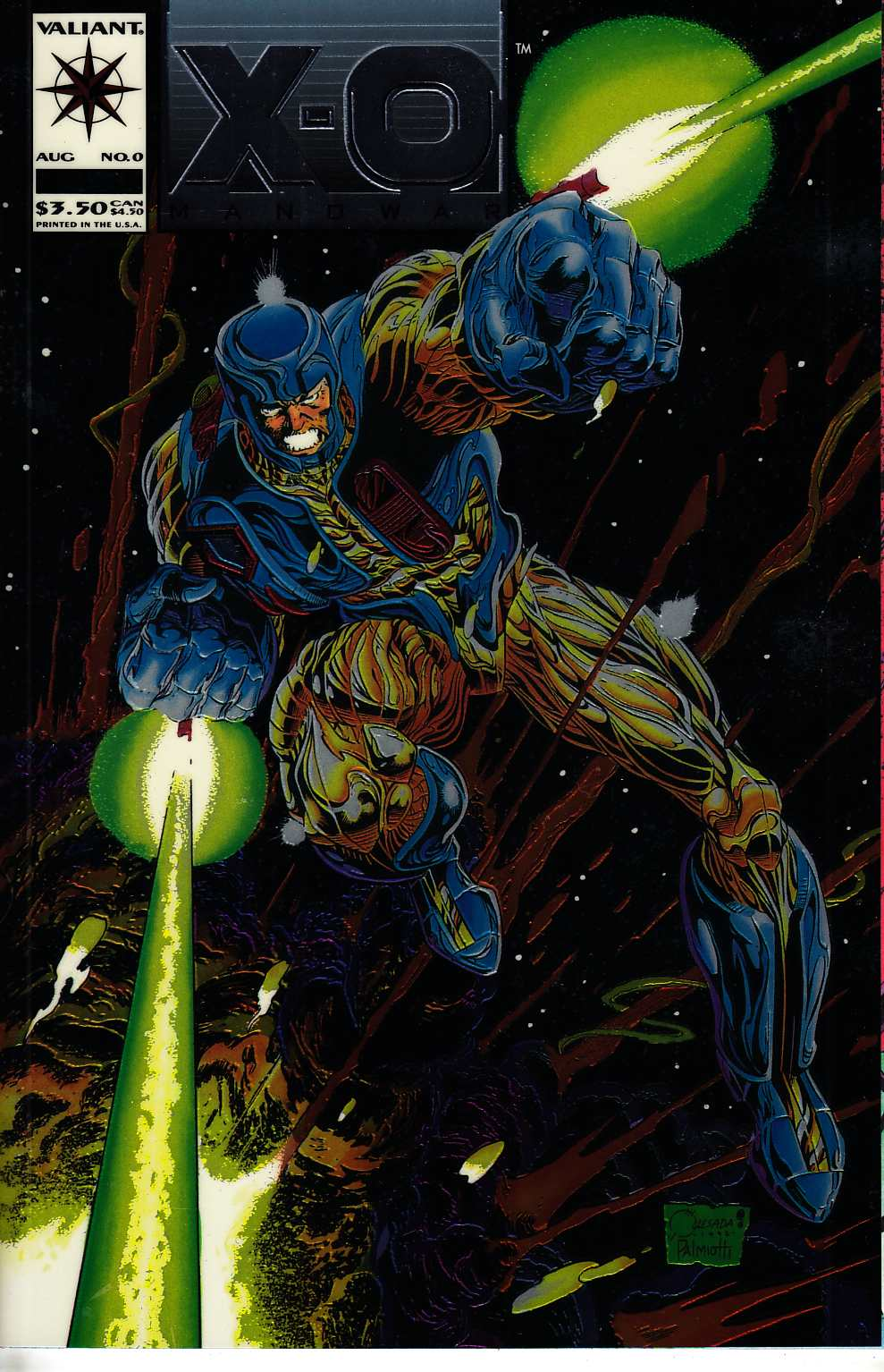 X-O Manowar #0 Near Mint (9.4) [Valiant Comic] THUMBNAIL