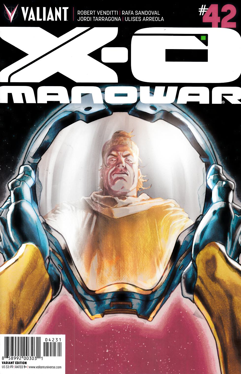 X-O Manowar #42 Cover C- Barrionuevo Incentive [Valiant Comic] THUMBNAIL