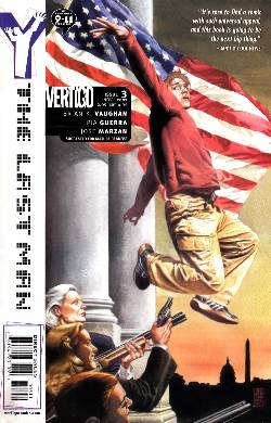 Y The Last Man #3 [DC Comic] LARGE