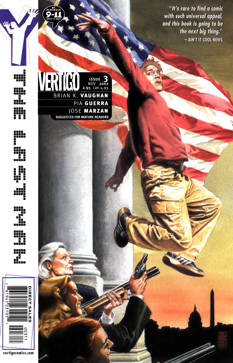 Y The Last Man #3 [DC Comic]_THUMBNAIL
