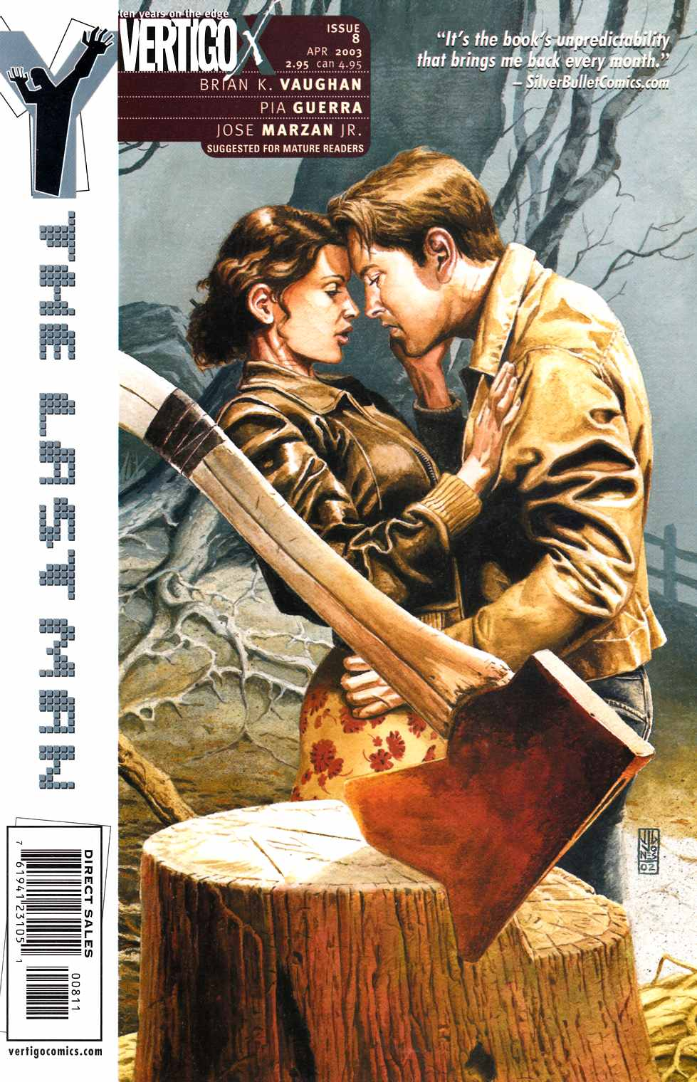 Y The Last Man #8 [DC Comic]_THUMBNAIL