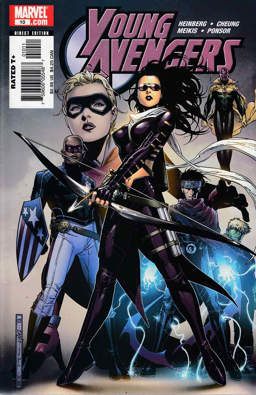 Young Avengers #10 Very Fine (8.0) [Marvel Comic] THUMBNAIL