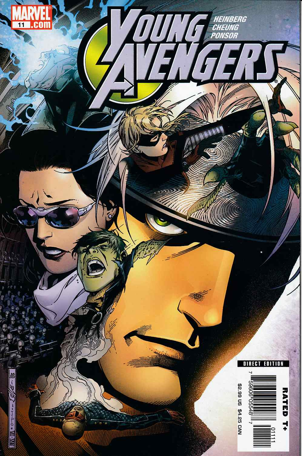 Young Avengers #11 Very Fine (8.0) [Marvel Comic]