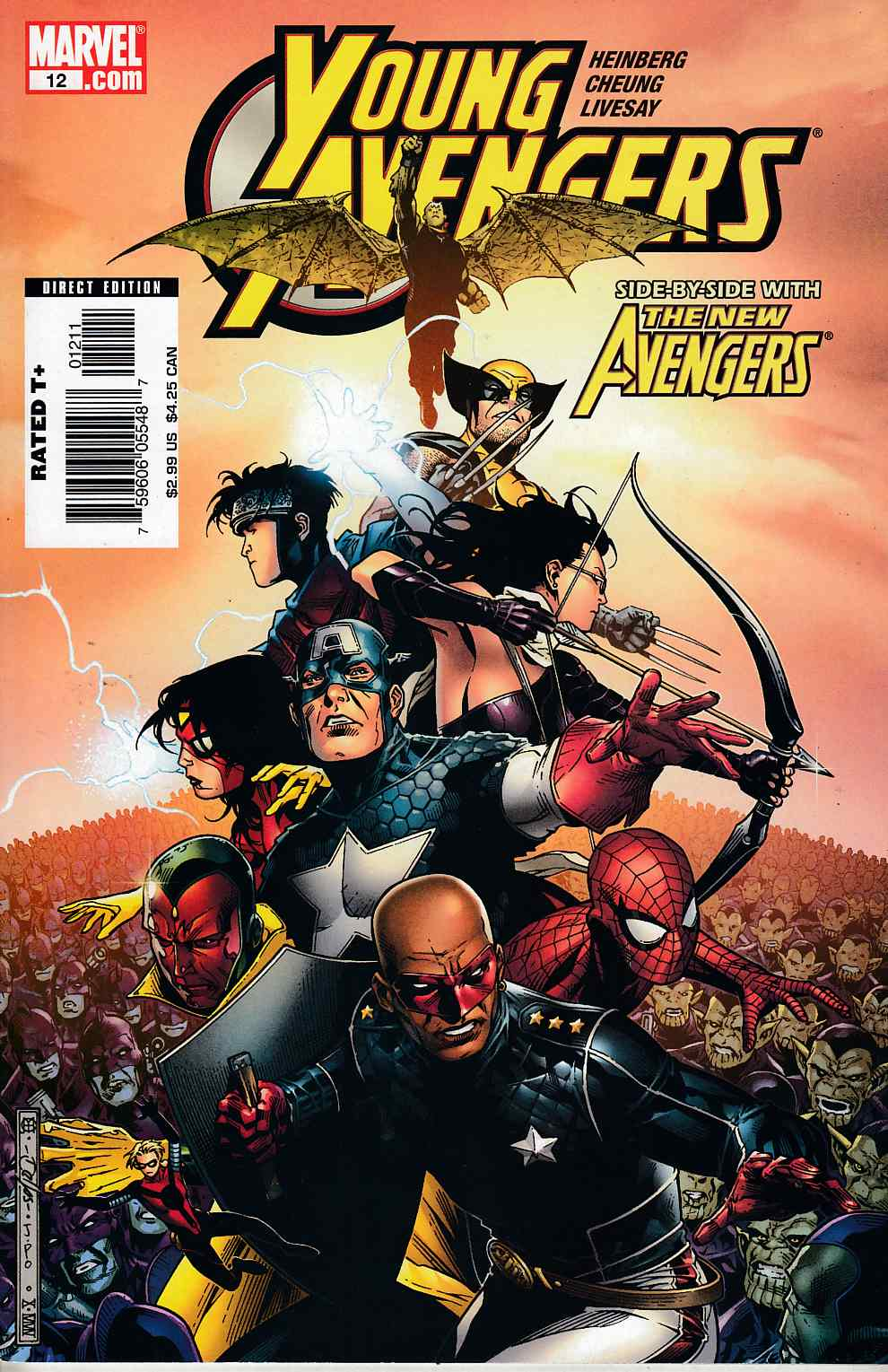 Young Avengers #12 Very Fine Plus (8.5) [Marvel Comic] THUMBNAIL