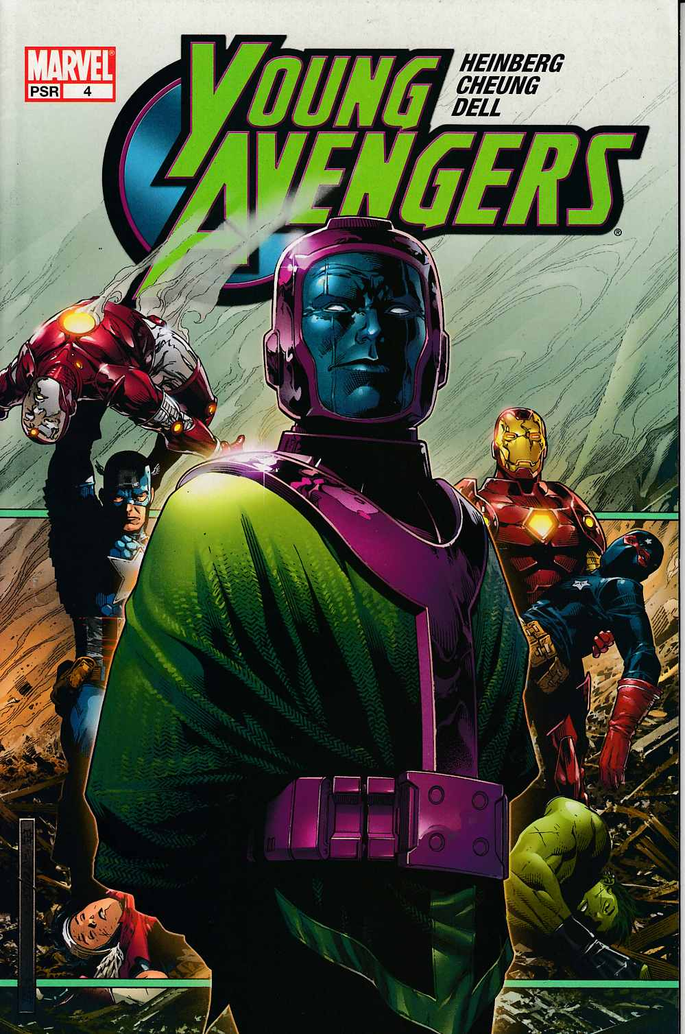 Young Avengers #4 Very Fine (8.0) [Marvel Comic]
