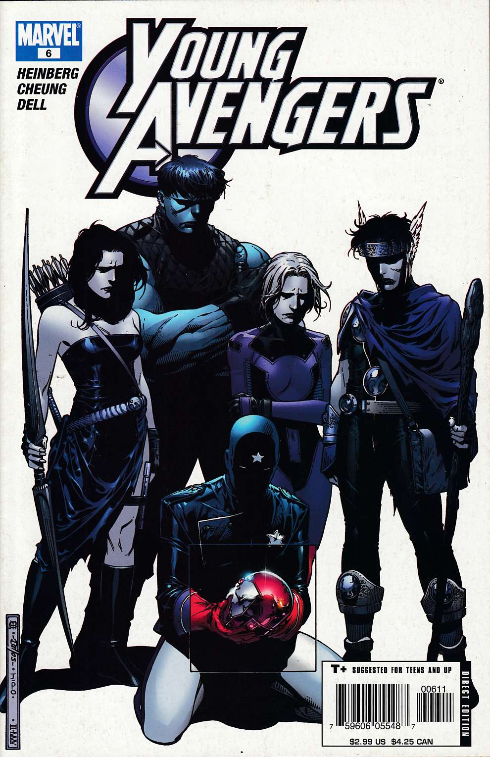 Young Avengers #6 Very Fine Minus (7.5) [Marvel Comic] THUMBNAIL