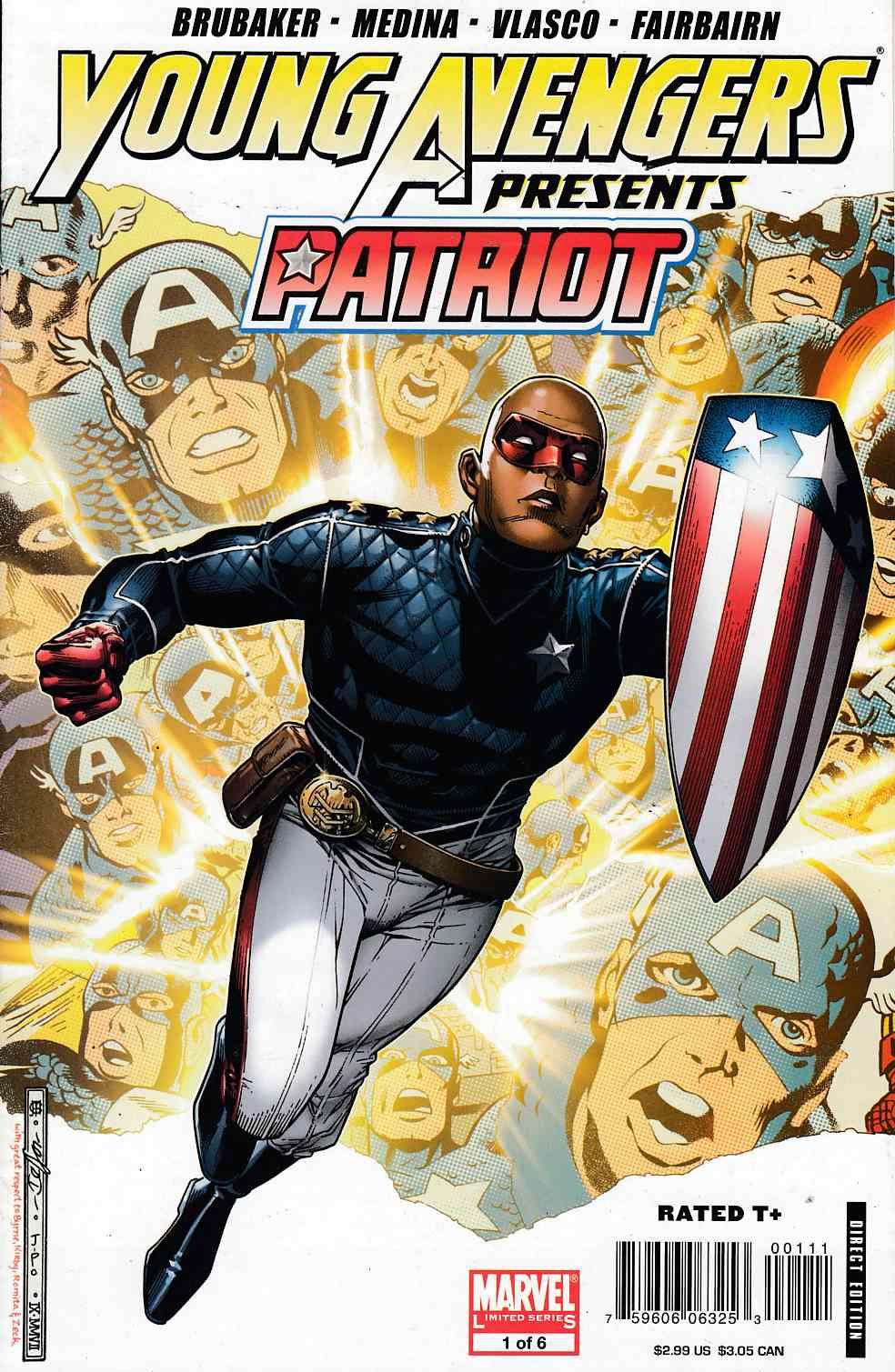 Young Avengers Presents #1 Patriot Near Mint (9.4) [Marvel Comic] THUMBNAIL