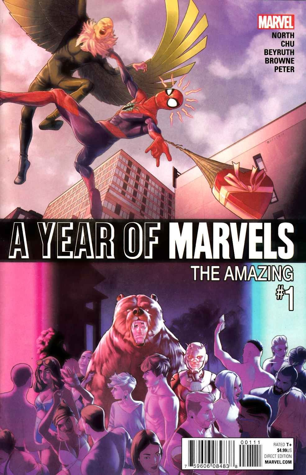 A Year of Marvels Amazing #1 [Marvel Comic] THUMBNAIL
