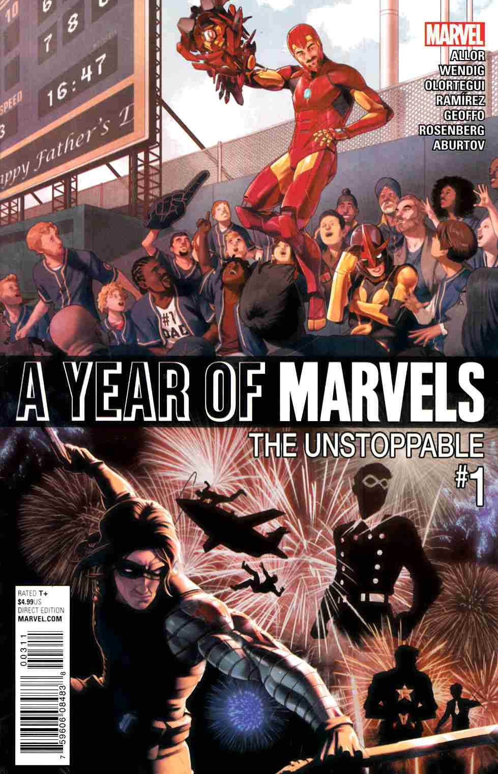 A Year Of Marvels Unstoppable #1 LARGE