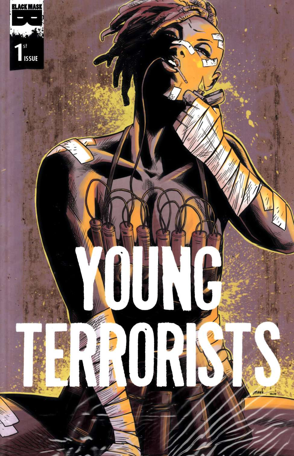 Young Terrorists #1 Cover A [Black Mask Comic] THUMBNAIL