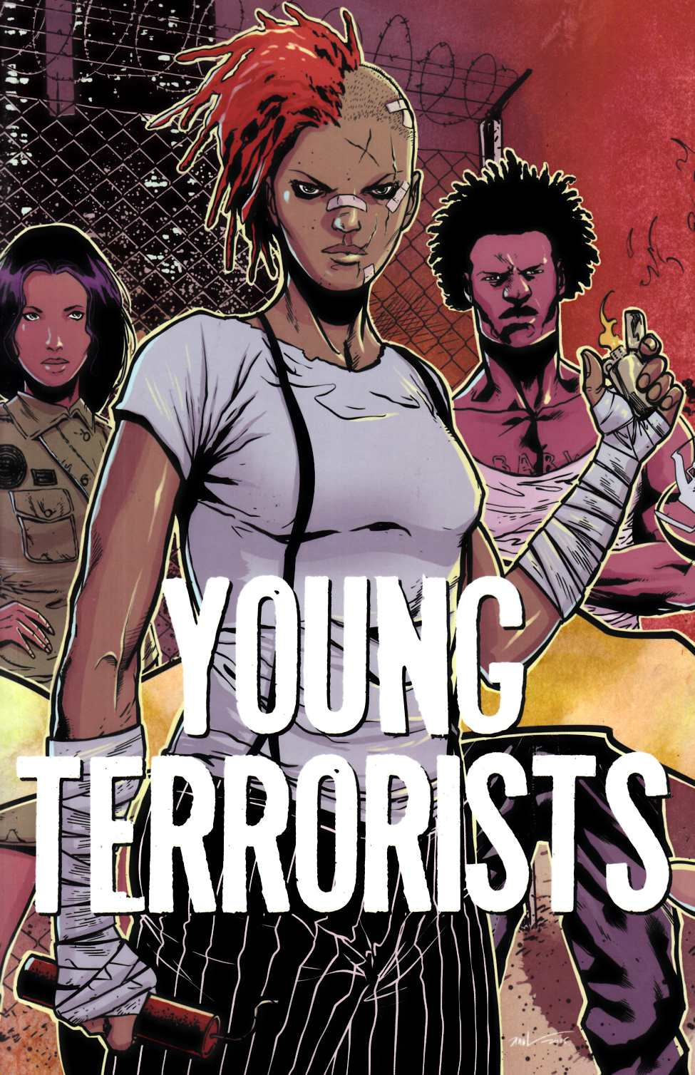 Young Terrorists #1 LCSD Exclusive Edition [Black Mask Comic] THUMBNAIL