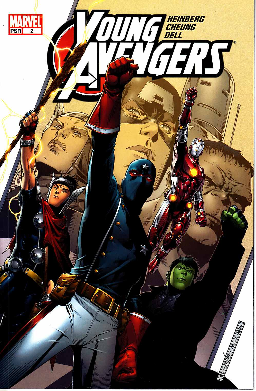 Young Avengers #2 Near Mint (9.4) [Marvel Comic]
