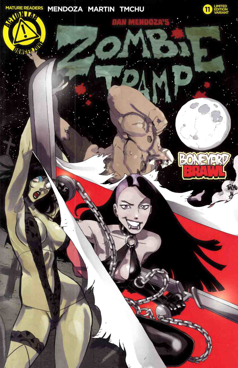 Zombie Tramp Ongoing #11 Vampblade Variant Cover [Danger Zone Comic]_THUMBNAIL