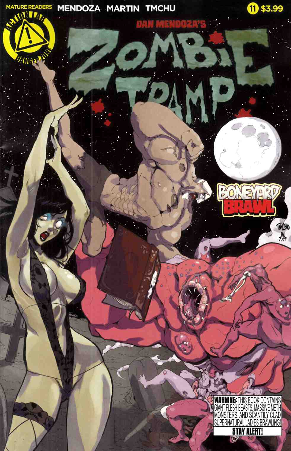 Zombie Tramp Ongoing #11 [Danger Zone Comic] LARGE