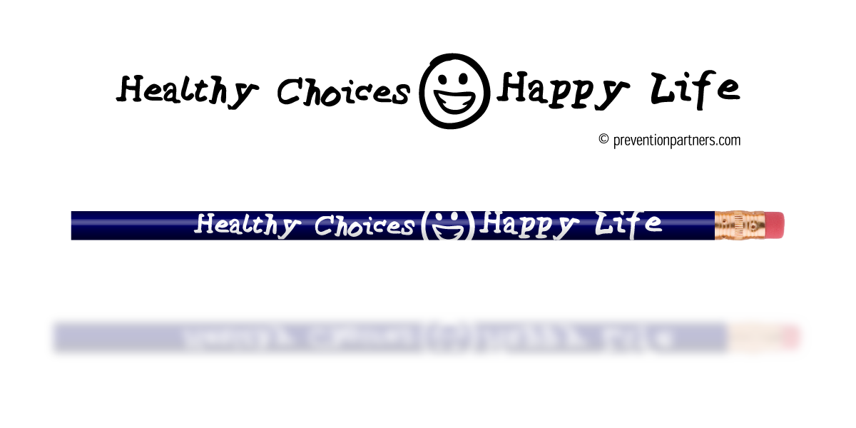 Blue Pencil: Healthy Choices Happy Life THUMBNAIL