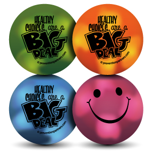 Mood Smiley Stress Ball: Healthy Choices are a Big Deal THUMBNAIL