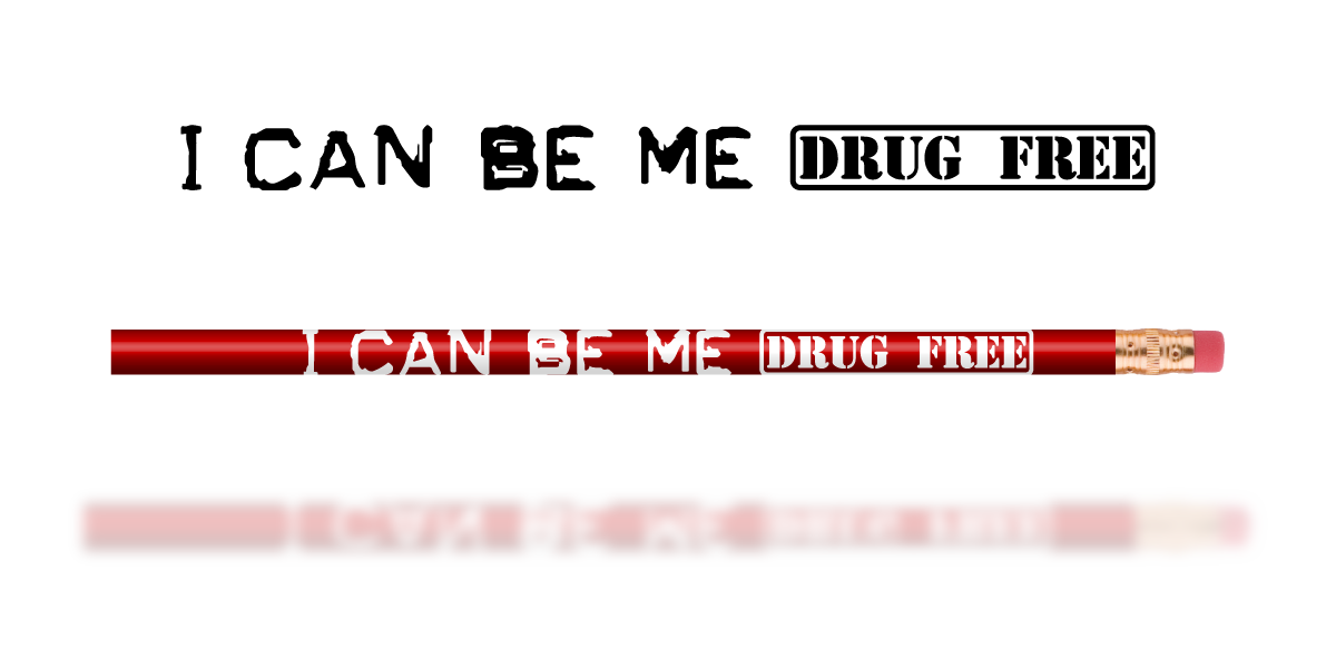 Red Pencil: I Can Be Me Drug Free MAIN