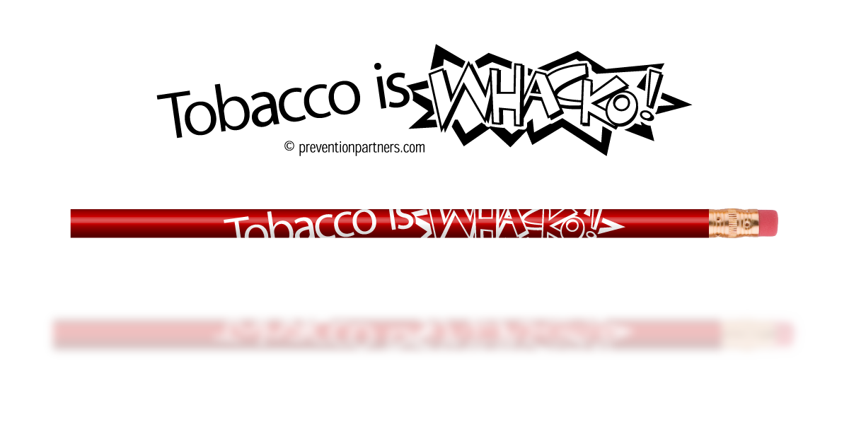 Red Pencil: Tobacco is Whacko THUMBNAIL