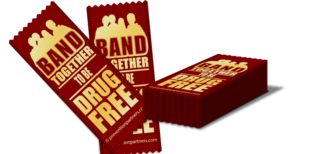 Red Ribbon: Band Together to be Drug Free THUMBNAIL