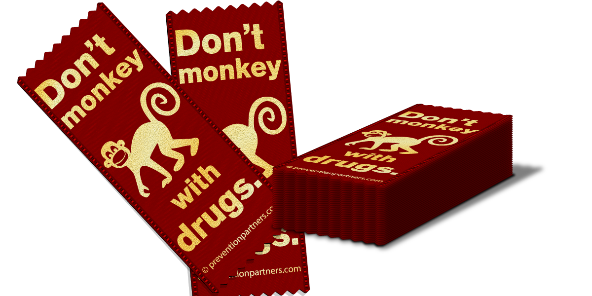 Red Ribbon: Don't Monkey with Drugs THUMBNAIL