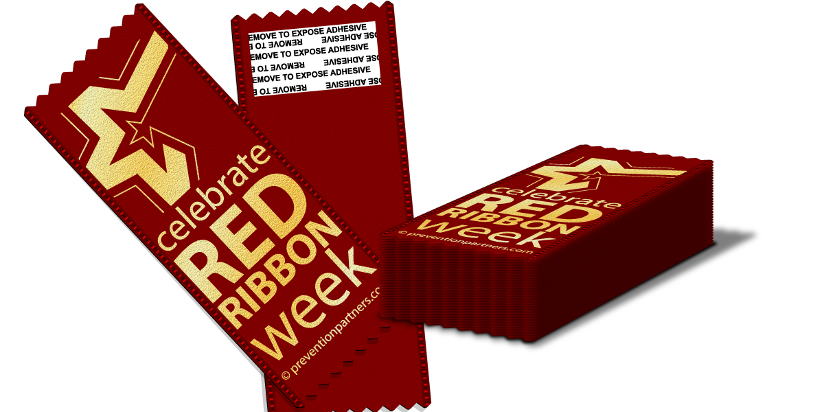 Adhesive Ribbon: Celebrate Red Ribbon Week MAIN