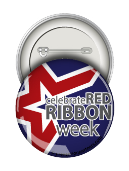 Round Button: Celebrate Red Ribbon Week MAIN