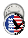 Round Button: Freedom From Drugs THUMBNAIL