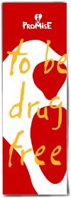 Bookmark: I Promise to be Drug Free THUMBNAIL