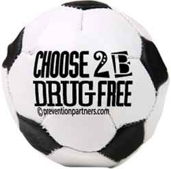 Soccer Kick Sack: Choose to be Drug Free MAIN