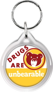 Zipper Tag: Drugs are Unbearable MAIN