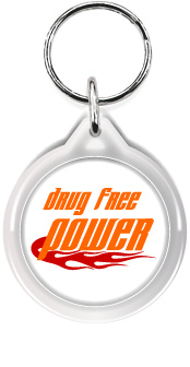 Zipper Tag: Drug Free Power MAIN