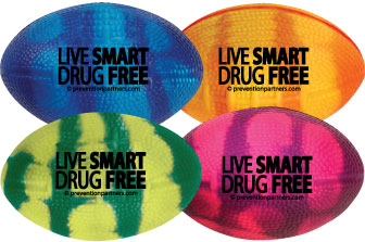 Mood Stress Football: Live Smart Drug Free MAIN