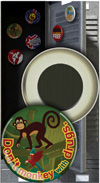Button Magnet: Don't Monkey with Drugs THUMBNAIL