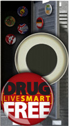 Button Magnet: Live Smart Drug Free THUMBNAIL
