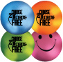 Mood Smiley Stress Ball: Choose to be Drug Free THUMBNAIL