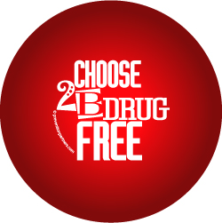 Stress Ball: Choose to be Drug Free MAIN