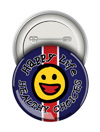 Round Button: Healthy Choices Happy Life THUMBNAIL