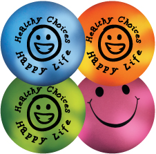 Mood Smiley Stress Ball: Healthy Choices Happy Life MAIN
