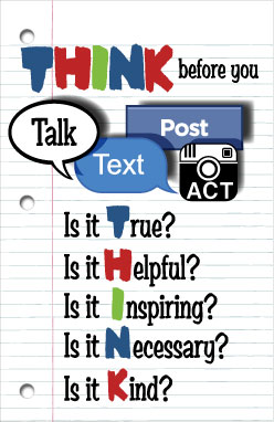 Poster: THINK Before You Talk MAIN