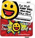 Toss Tag: Healthy Choices Happy Life THUMBNAIL